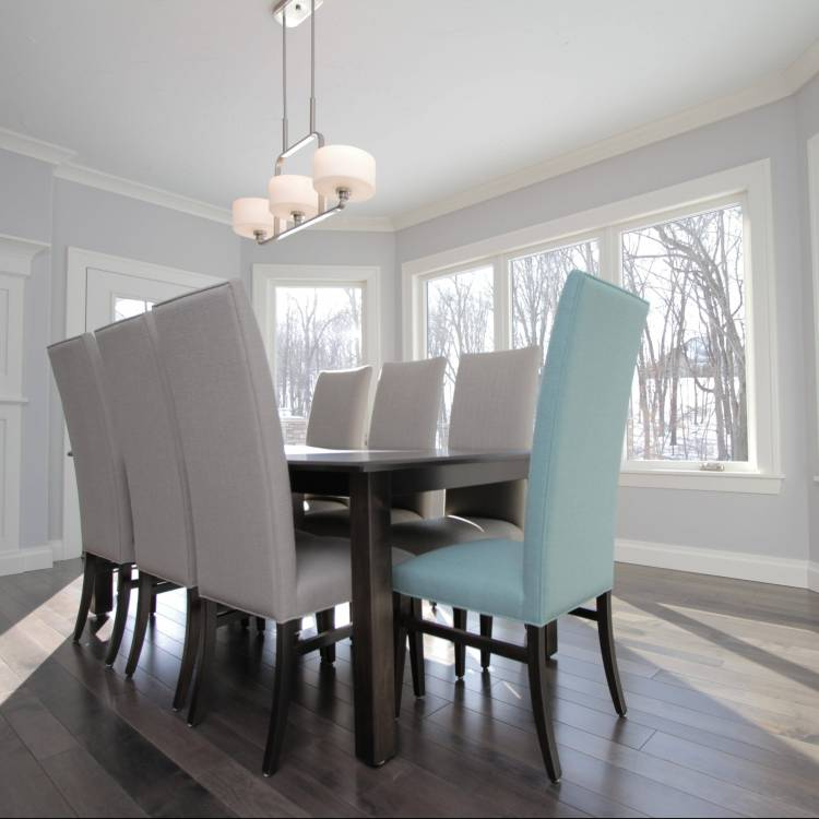 Dining Room Casement Windows - Live Shot