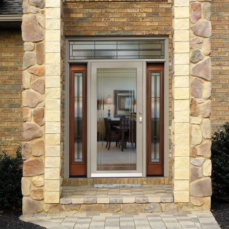 Storm Door Glass Options