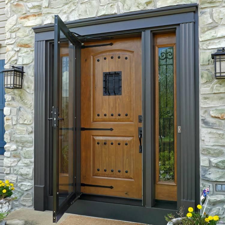 Entry Door Hardware Options