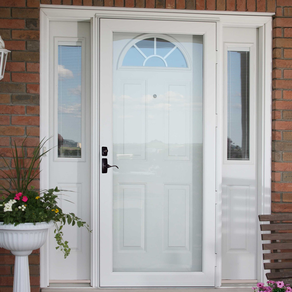 Storm Door Glass And Screen Options Get A Quote From