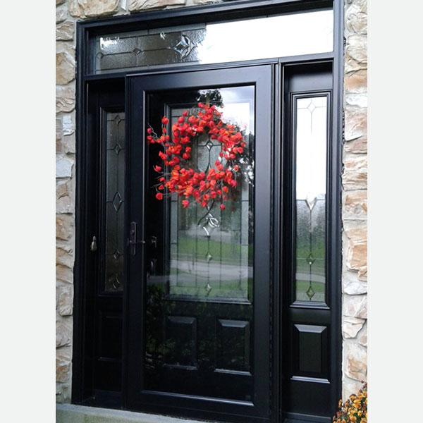 Provia door with sidelights and esmond glass in Collegeville