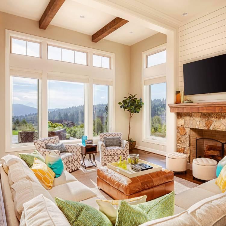 Living Room Casement Windows