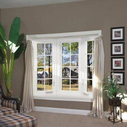 3 Panel Bow Window with Casements