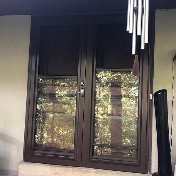 brown storm doors and brown  entry doors in wayne pa