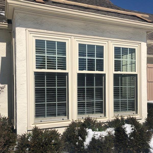 cream double hung windows in wayne pa
