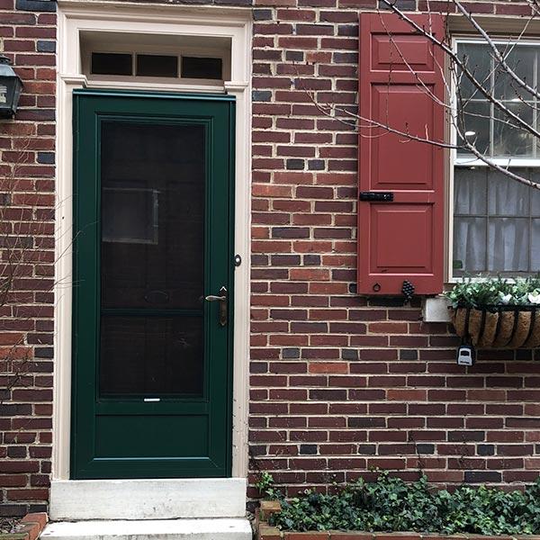 green storm door philadelphia